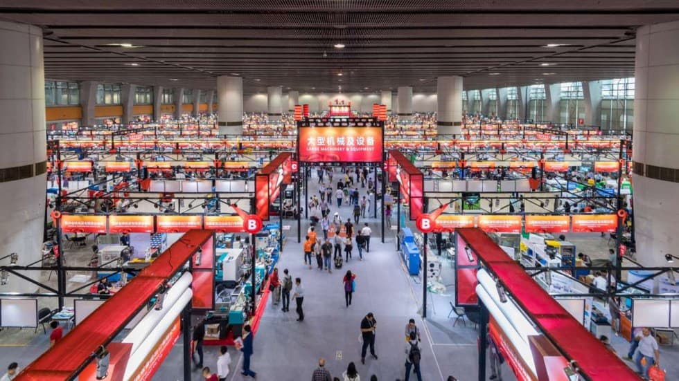 Посещение выставок в Китае - canton fair amalfini1
