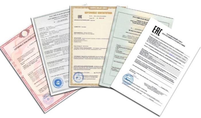 Одежда оптом из Турции - sertifikaty odezhda1