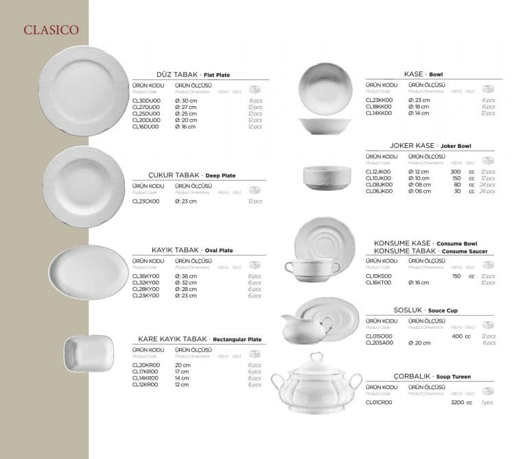 Посуда HoReCa 28