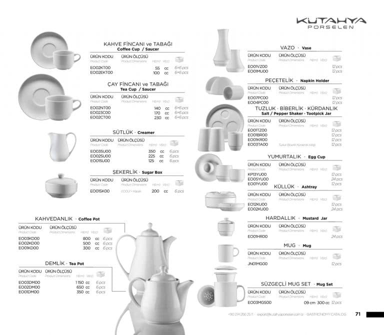 Посуда HoReCa 65