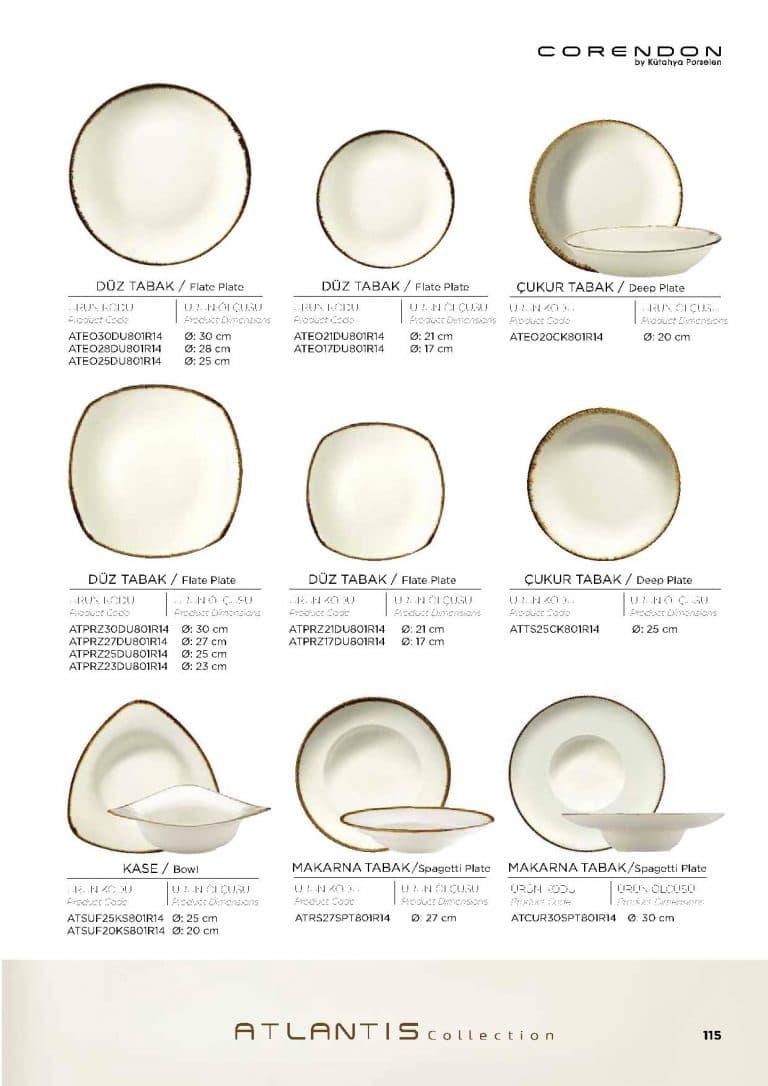 Посуда NewCorendon 108