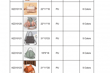 new bag catalogue Amalfini 2021-03