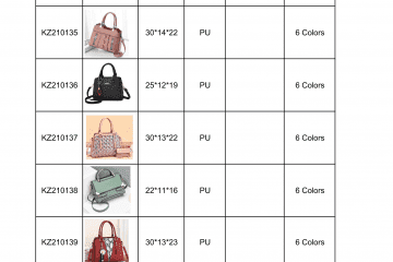new bag catalogue Amalfini 2021-05