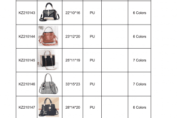 new bag catalogue Amalfini 2021-06