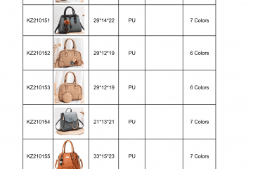 new bag catalogue Amalfini 2021-07