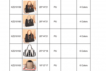 new bag catalogue Amalfini 2021-08