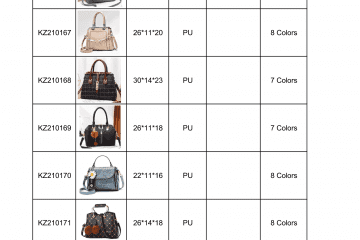 new bag catalogue Amalfini 2021-09