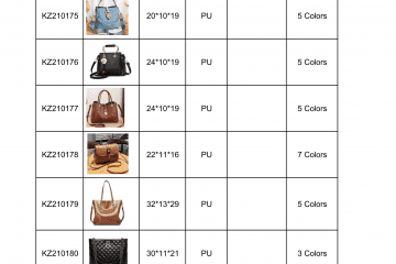 new bag catalogue Amalfini 2021-10