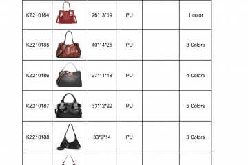 new bag catalogue Amalfini 2021-11