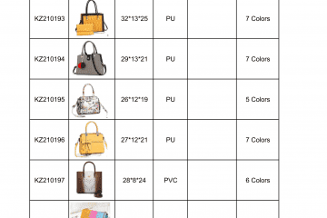 new bag catalogue Amalfini 2021-12