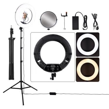 Кольцевая лампа FD-480 продвинутая комплектация