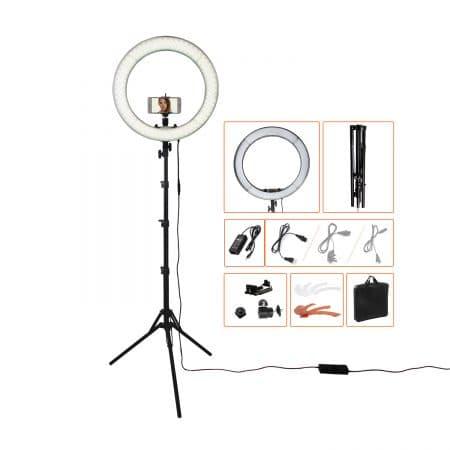 Кольцевая лампа RL-18 LED